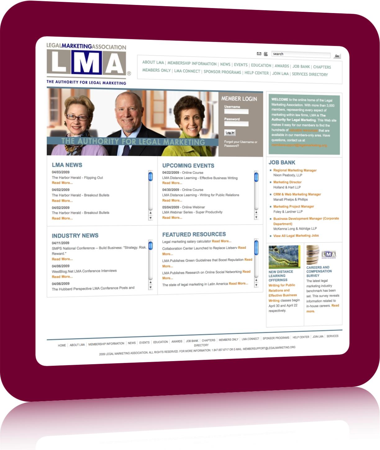 LegalMarketing.org Gets eCommerce Job Bank